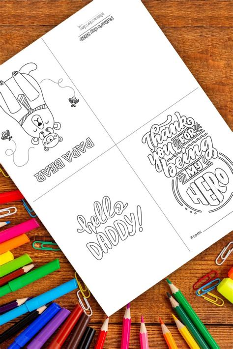 As the name suggests, father's day is a special occasion that commemorates fathers and father figures around the world, and acknowledges and honours their. Free Father's Day Printable Cards 2021