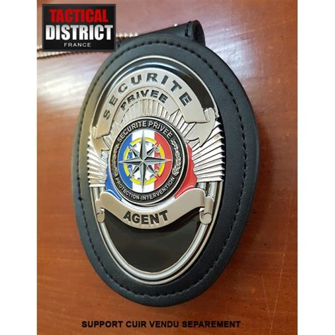 bureau de securite privee plaque de ceinture de securité privée