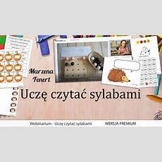 Webinar Uczę Czytać Sylabami Wersja Premium  39,00zl  Kreatywnewrotapl, Pomoce Logopedyczne