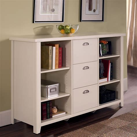 white bookshelf with cabinet kathy ireland home by martin tribeca loft bookcase filing