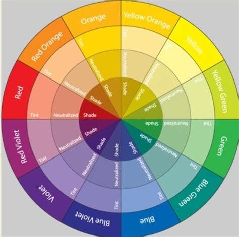 Color Wheel Chart Eye Makeup Papel Pintado
