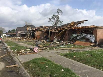 Tornado Shreveport Damage Louisiana Wiki Ef3 Tornadoes