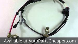 2000-2004 Ford Focus 2 0 Battery Cable Harness Cable Manual Transmission Genuine New