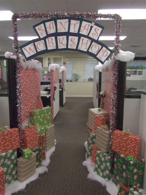Best Office Christmas Decorations Ideas On Pinterest