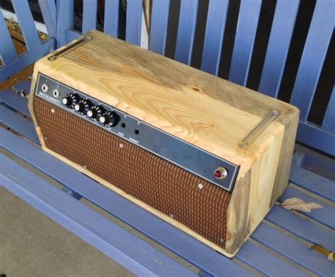 hand crafted custom guitar amp and cabinet by dan hehnke