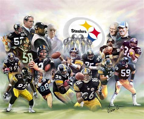 steelers the steel curtain the steel curtain pittsburgh steelers by wishum gregory