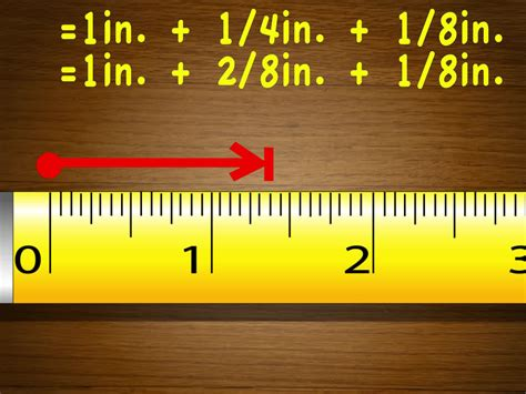 reading a measure tape measure