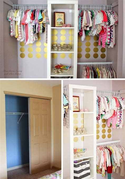 Closet Organization Project Ideas by 20 Diy Closet Organization Ideas For The Home Baby Room