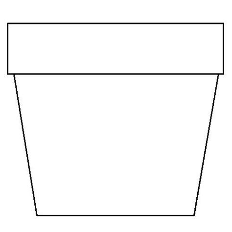 flower pot template flower pot coloring page flower coloring page