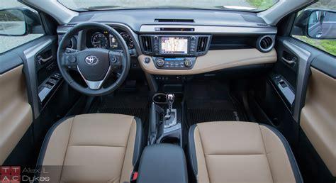 toyota rav4 interior 2016 toyota rav4 review the soft soft roader