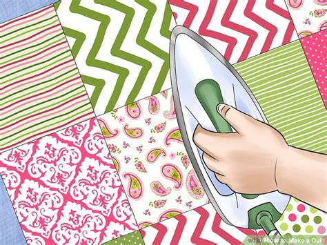 how to sew a quilt the best way to make a quilt wikihow