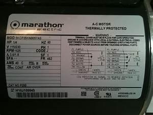 Ac Motor Nameplate Data