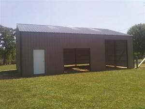 30x40x12 pole barn garage wwwnationalbarncom garage With 30x40x14 pole barn
