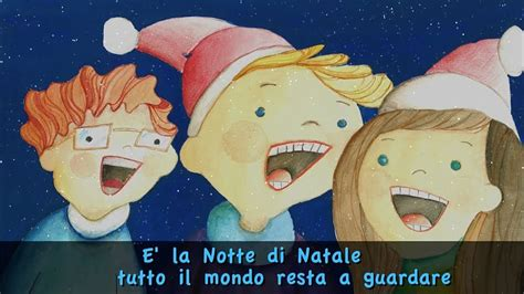 Testo E La Notte Di Natale - e la notte di natale con testo official lyrics