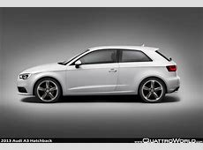 2013audia3hatchbackgallery4 QuattroWorld