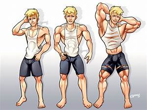 Commission   Muscle Growth Pt 1 By Goyong On Deviantart
