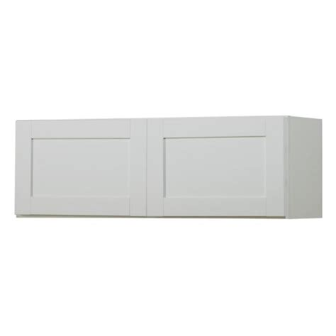 shaker cabinet doors lowes shop now arcadia 36 in w x 12 in h x 12 in d white