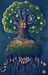 Yggdrasil tree by nokeek on DeviantArt