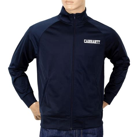 Track Jacket by Trendy And Stylish S Carhartt Track Jacket In Navy