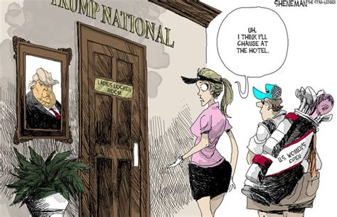 Women's Golf Championship At A Trump Property?