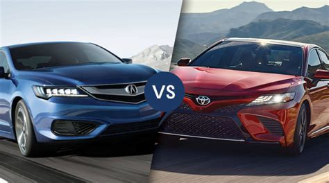 Middletown Acura by Comparison 2018 Acura Ilx Se Vs 2018 Toyota Camry