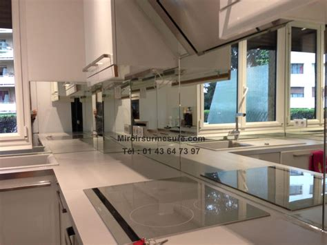 cr馘ence en miroir pour cuisine credence en miroir pour cuisine maison design bahbe com