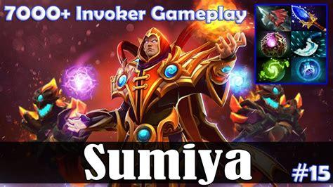 dota 2 invoker gameplay pro sumiya invoker mid 7000 invoker gameplay dota 2 pro pub gameplay youtube