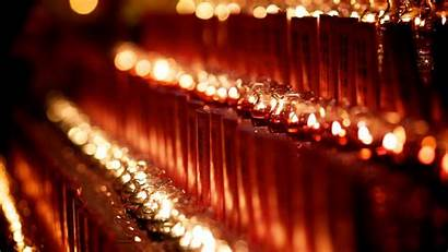 Lamp Oil Lamps Wallpapers Temple Buddhist Field