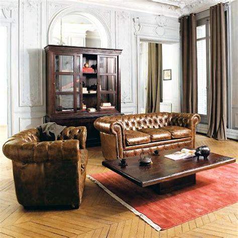 canapé oxford le canapé chesterfield un meuble anglais mythique