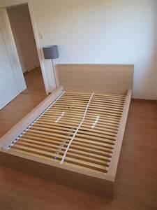 Bett Ikea Malm : ikea malm bett eiche wei lasiert 140 cm mit federkernmatratze und lattenrost in esslingen ~ A.2002-acura-tl-radio.info Haus und Dekorationen