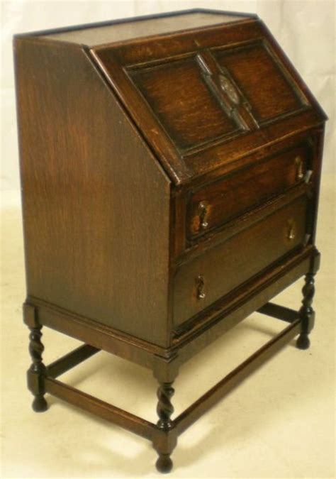 oak writing bureau uk jacobean style oak writing bureau 71536