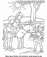 Coloring Pages Animal Farm Children Donkey Sheets Activity Printable Sharing Tractor Animals Drawings Riding Colouring Activities Cat Clipart Dog Livestock sketch template