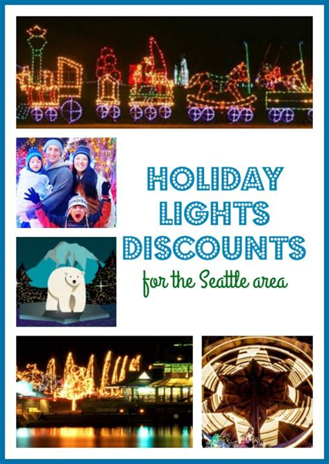 holiday lights discount tickets seattle area