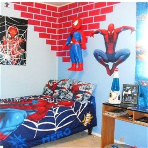 sons spiderman room diseno de habitacion de ninos