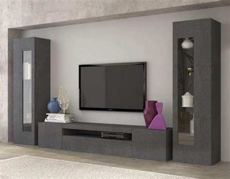 Living Room TV Unit And Furniture In Light Grey   UrbaneWood