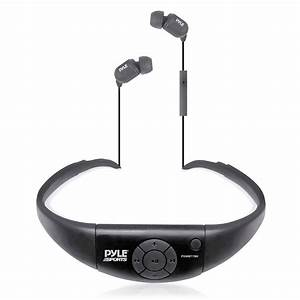 Pyle Pswbt7bk Active Sport Waterproof Bluetooth Hands Free
