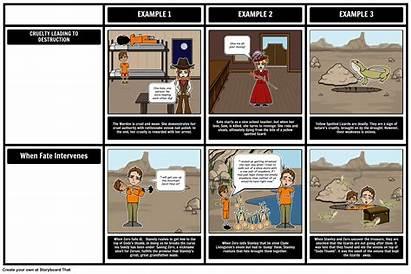 Holes Sachar Storyboard Louis Stanley Yelnats Character