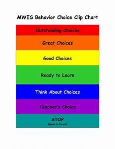 Clip Chart Behavior Management System Printable Clip Chart Behavior System Cliparts