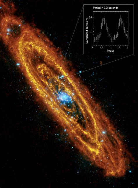Esa Science Technology Andromeda Pulsing Neutron Star