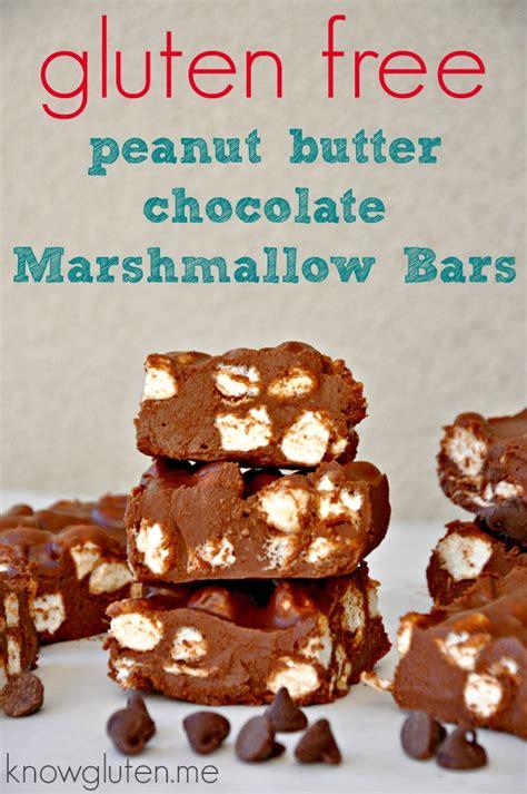 gluten   bake chocolate marshmallow bars  gluten