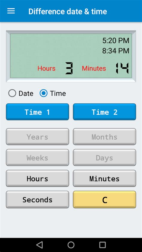 calculator date time android apps google play
