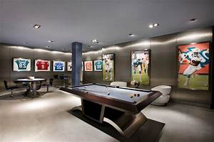 Wonderful Modern Pool Tables Home Ideas Collection