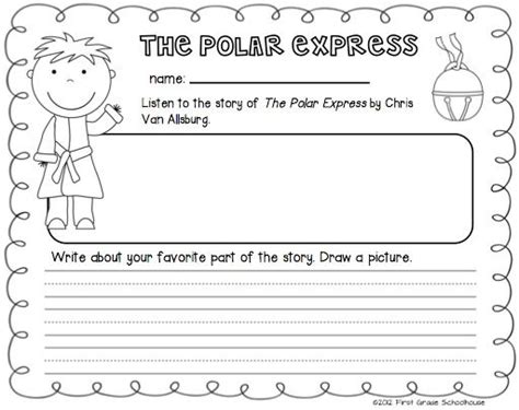 Polar Express Coloring Page - Arenda-stroy