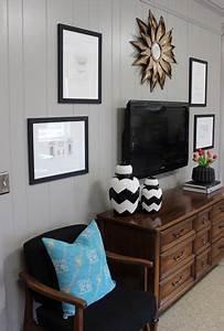 Best ideas about decor around tv on