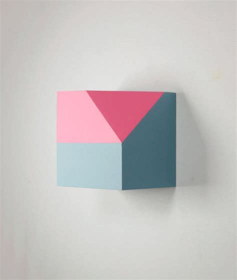 Abstract Shapes Sculpture by Geometric Sculptural Paintings By Zin Helena Song Style