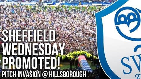 Sheffield Wednesday Promotion: Pitch invasion at ...