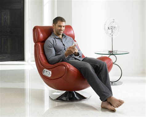 modern most comfortable leather reading chair with high