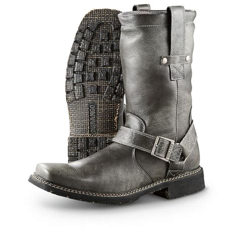 biker boots men men 39 s durango boot city chicago harness boots black