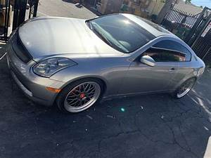 2005 Infiniti G35 Coupe Manual Stick Shift Sport Trade G37