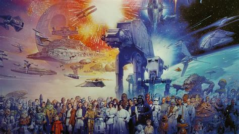 The Star Wars world HD Wallpaper | Background Image ...